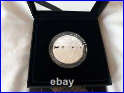 The Queen's Beasts 2021 UK Rare Mint Silver Proof Completer Coin Box COA 1oz