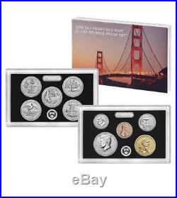 Two 2018-S Silver Reverse Proof Sets Unopened Mint Box First Strike Eligible