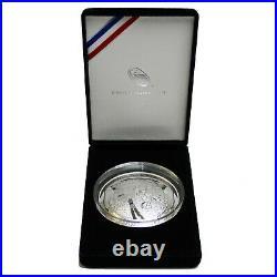 U. S. Mint 2019-P Proof Apollo 11 50th Anniversary 5 Oz Silver Coin with Box & COA